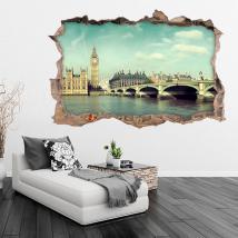 Vinile 3D Big Ben a Londra