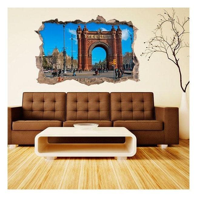 Vinile 3D Barcellona Arc De Triomphe