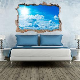 Cielo di vinile parete 3D