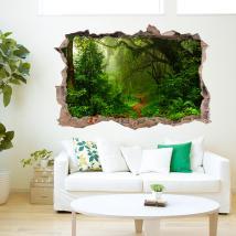 Vinile di giungla 3D