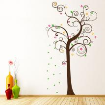 Albero decorativo di multi-colored vinile