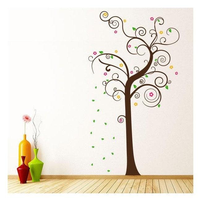 Albero decorativo di multi-colored vinile