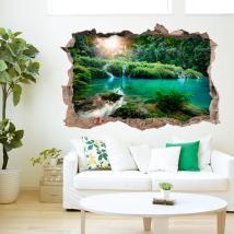 Montagne e fiumi 3D vinile