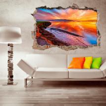 Vinyl tramonto Laguna 3D