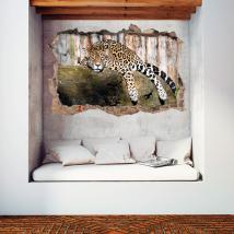 Vinili parete 3D Jaguar