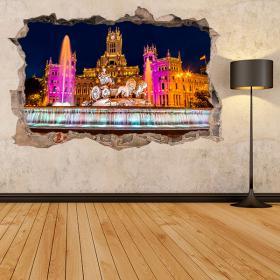 3D Cibeles Madrid vinili