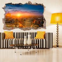 Tramonto di Madrid 3D vinile