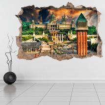 Vinile 3D Barcellona Plaza di Spagna