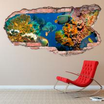 Mondo marino 3D vinile