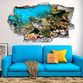 Animali di mare 3D vinile