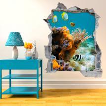 Pesce 3D vinile del mare