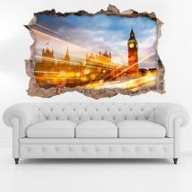 Città di Londra di vinile 3D