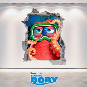 Parete del foro Disney vinile cercando A Dory 3D