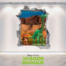 Murale in vinile Disney viaggio Arlo foro 3D