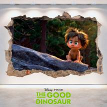 Muro di Disney 3D vinile foro The Dinosaur buona