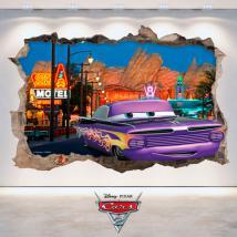 Foro di Disney Cars 2 vinile parete 3D Italian 4772