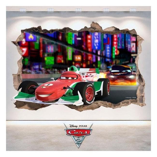 Disney Cars 2 3D vinile Italian 4807
