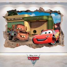 Disney Cars 2 3D vinile Italian 4808