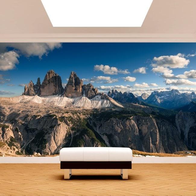 Montagne di foto parete murales Alpi