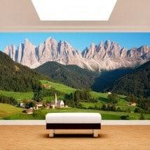 Fotomurali montagne Dolomiti Italia