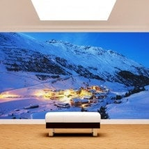Montagne di foto parete murales Alpi Austria