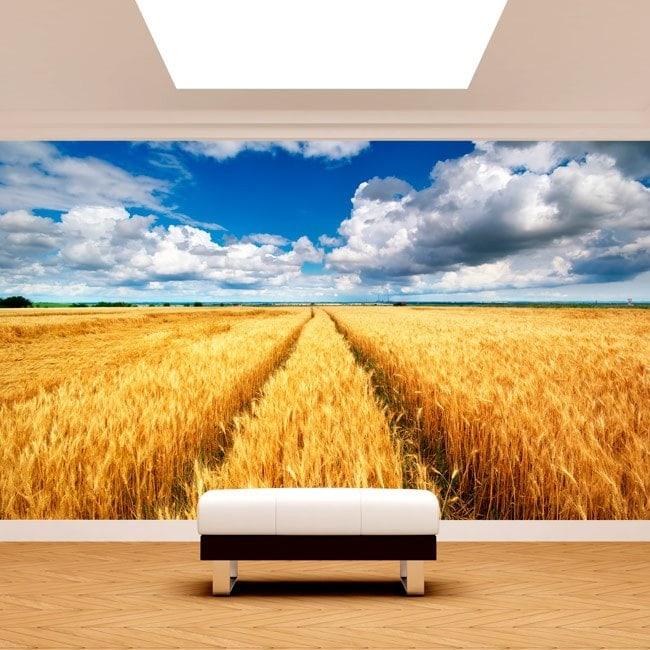Natura di picchi di foto parete murales