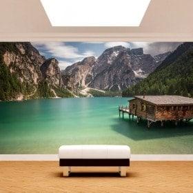 Fotomurali Italia Lago di Braies