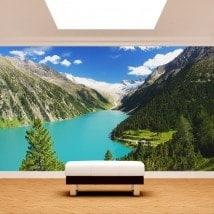 Fotomurali Lago Zillertal Austria
