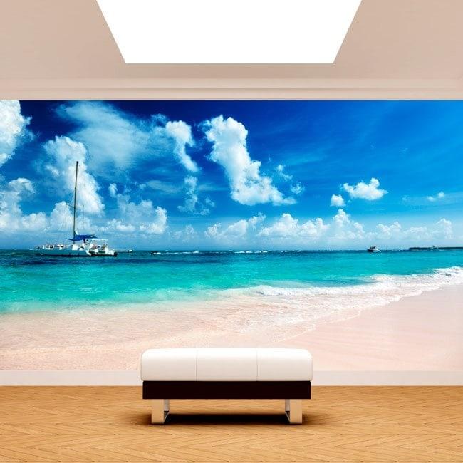 Fotomural Beach