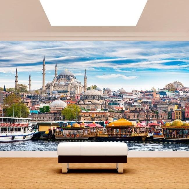 Città di murales muro Foto Istanbul