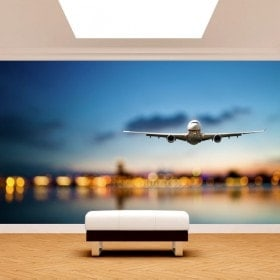 Gigantografie di foto di aerei