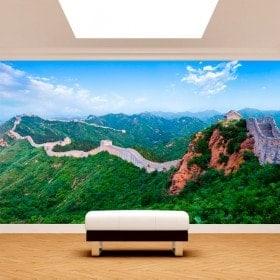 Fotomurali la grande muraglia di Cina