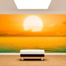Fotomurali mettere del sole in mare