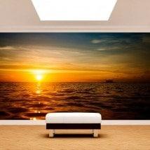 Fotomurali mettere del sole nel mare