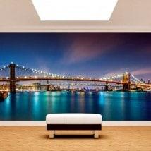 Ponte di murales muro foto da Brooklyn New York