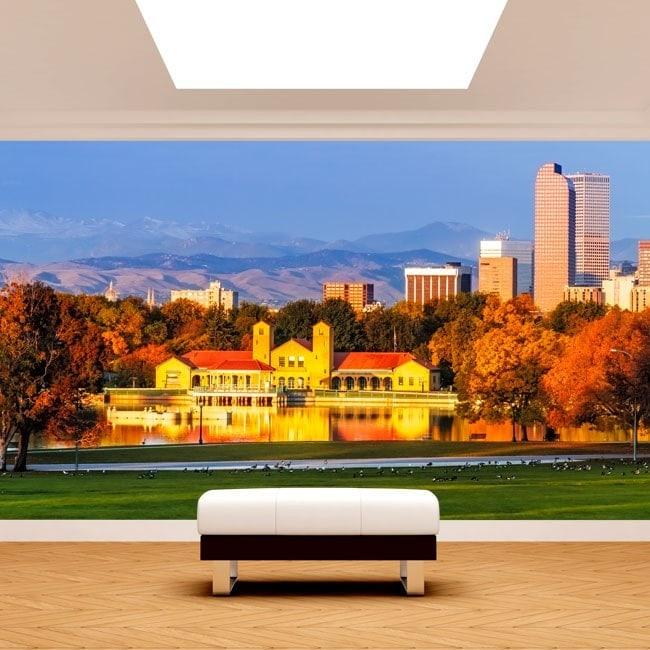Fotomural Park Denver Colorado