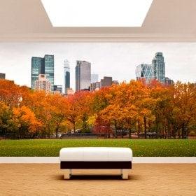 Fotomurali parete Central Park New York