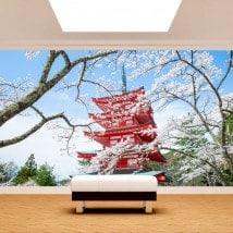 Fotomurali Giappone Pagoda