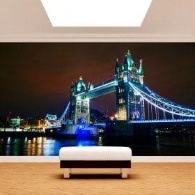 Fotomurali London bridge tower