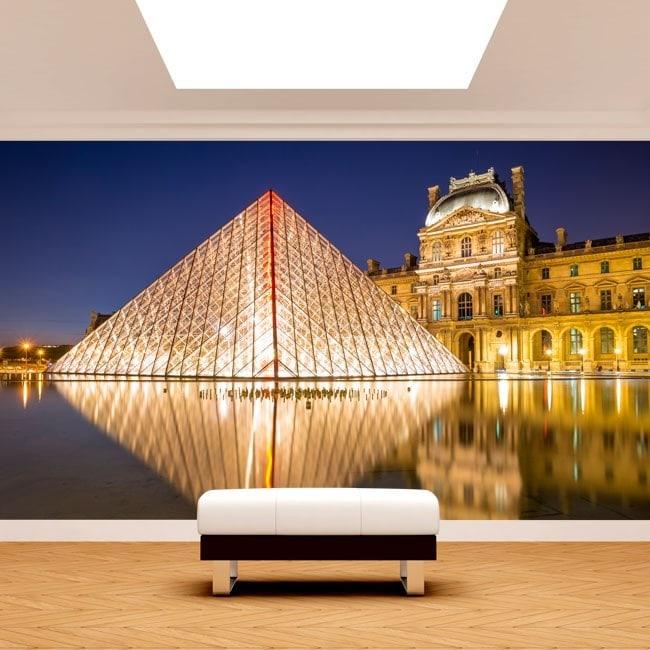 Fotomurali Parigi Museo del Louvre