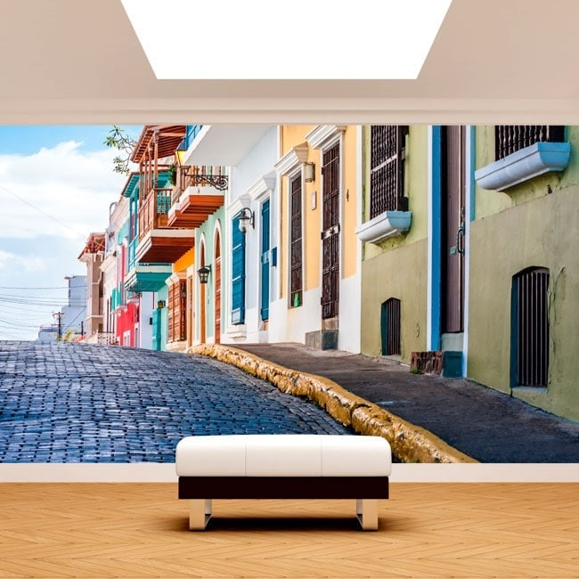 Fotomurali strade di Puerto Rico