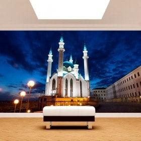 Foto muro murales Moschea Qol Šari