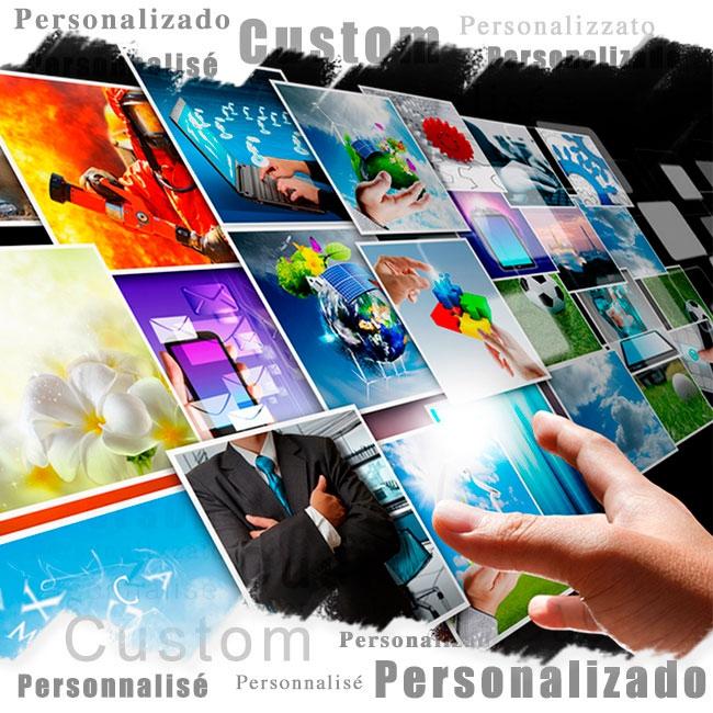 Immagini personalizzate in vinile