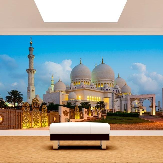 Foto muro murales vinile Moschea Sheikh Zayed