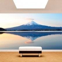 Fotomurali Monte Fuji Lago Kawaguchi