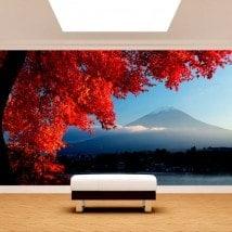 Fotomurali Wall Mount Fuji