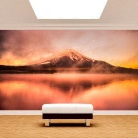 Fotomural Lago Kawaguchi mt. Fuji