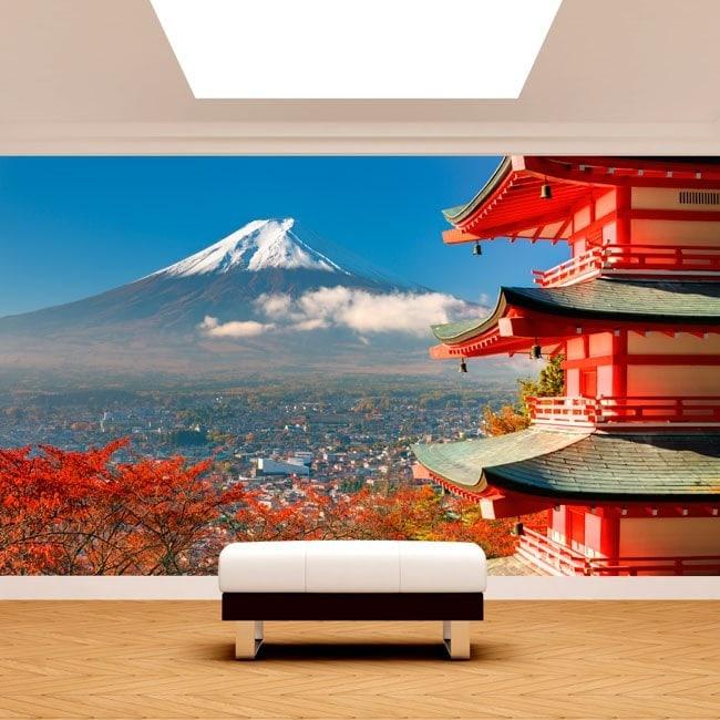 Fotomural Wall Mount Fuji Italian 5029