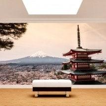 Pagoda di Fotomural Monte Fuji