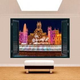 Cibeles Madrid 3D di Windows